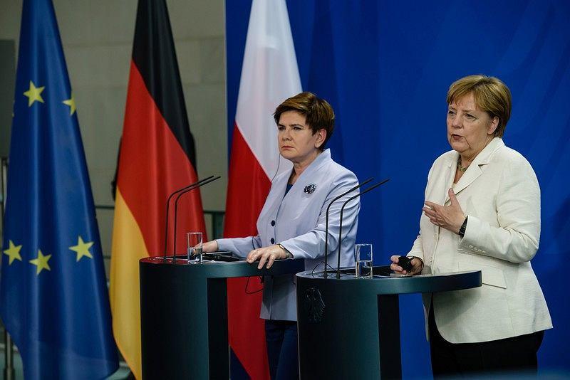 Beata Szydło i Angela Merkel podczas spotkania 22 czerwca w Berlinie