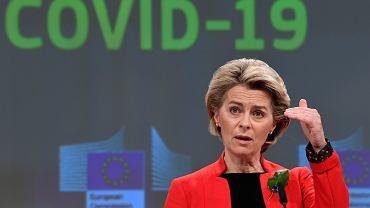 Szefowa Komisji Europejskiej Ursula von der Leyen: Oto przesłanie dla AstraZeneki