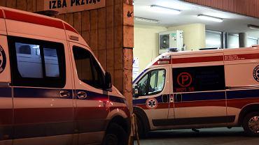 Izba Przyjęć w Szpitalu na Banacha w Warszawie