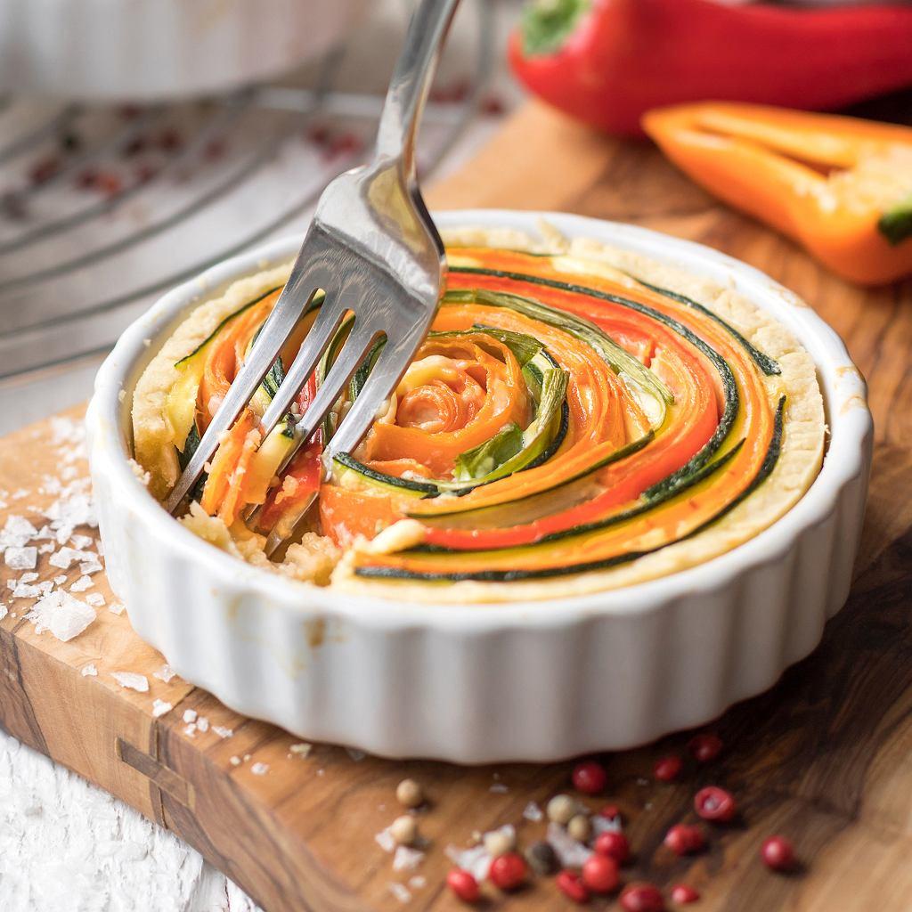 Wytrawne tartaletki z warzywami