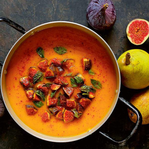 zupa z dyni i gruszek