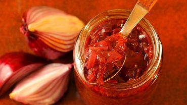 Marmolada z czerwonej cebuli