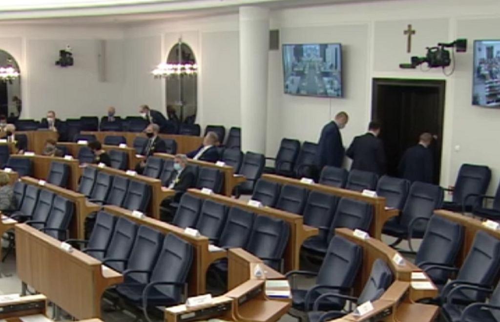 Przed wystąpieniem Adama Bodnara w Senacie
