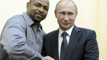 Roy Jones Jr. spotkał się z Władimirem Putinem