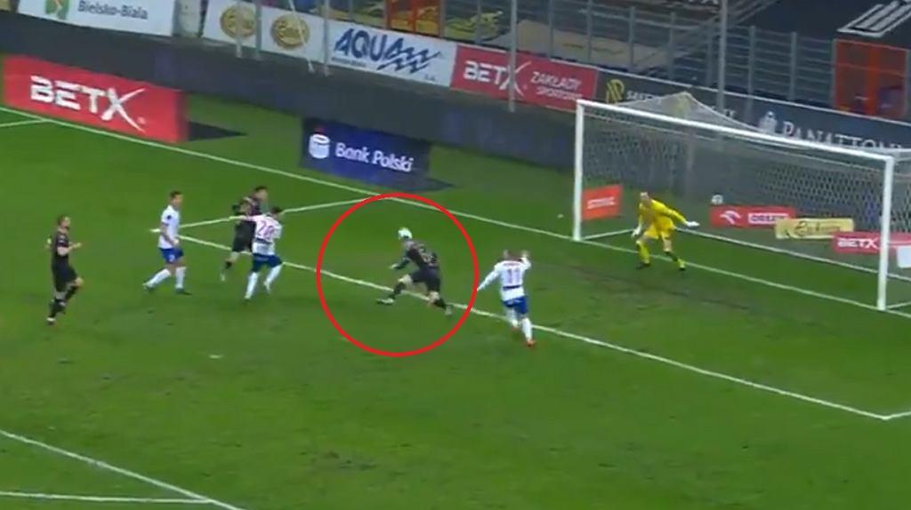 Kozłowski! Co za gol!