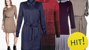 Sukienki z długim rękawem - ponad 130 propozycji