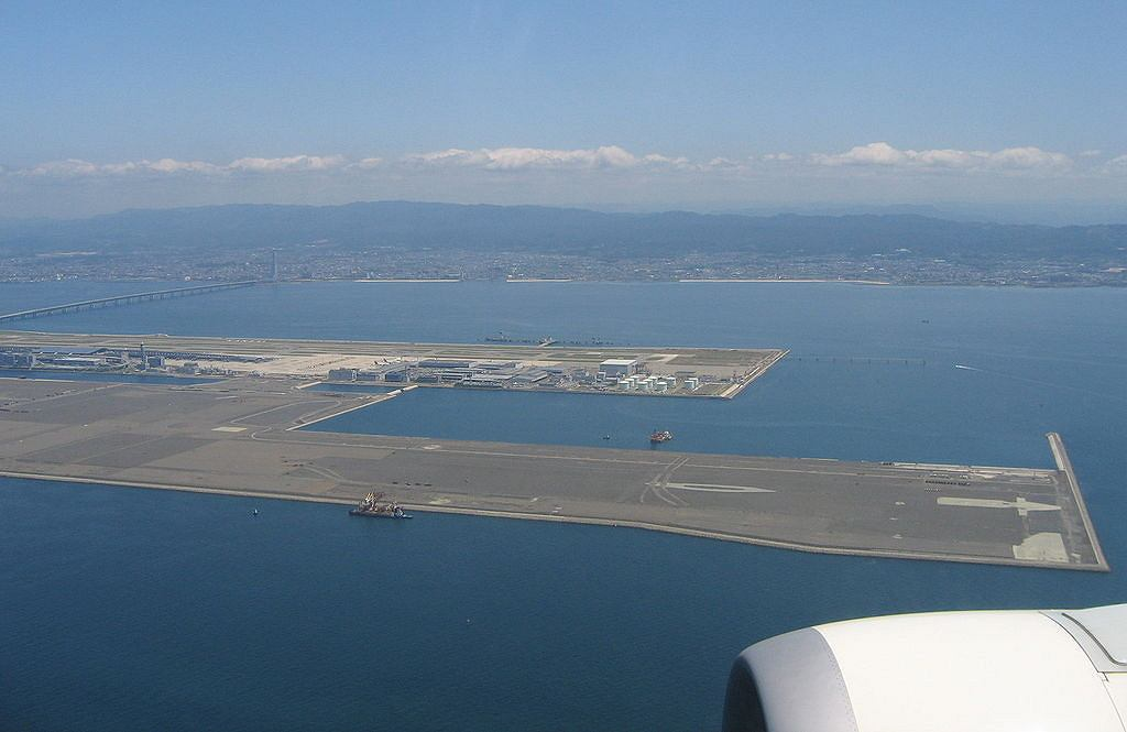 Kansai International Airport / Fot. Thorfinn Stainforth, Wikimedia CC BY-SA 3.0.