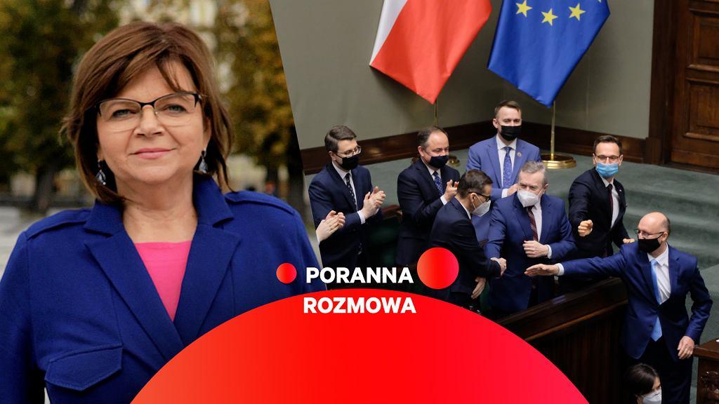 Poranna rozmowa Gazeta.pl. Izabela Leszczyna