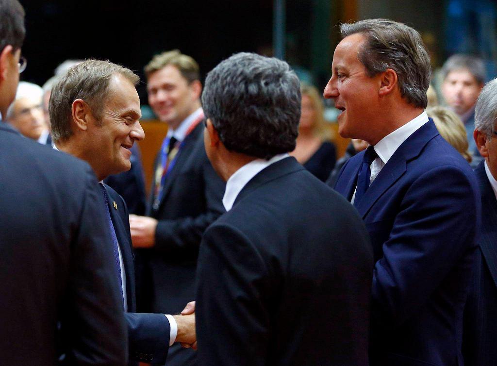 David Cameron gratuluje Donaldowi Tuskowi