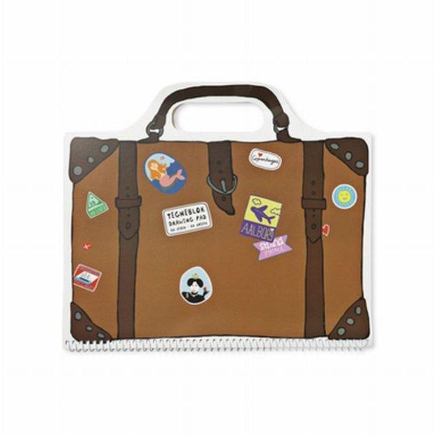 Blok w kształcie walizki, Tiger, cena: 10 zł / fot. Tiger