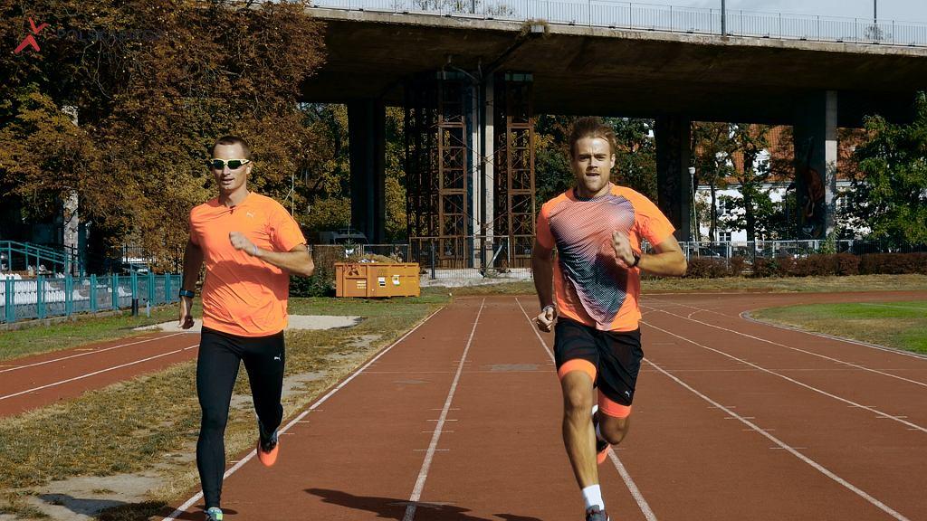 Marcin Fabiszewski i Damian Bąbol