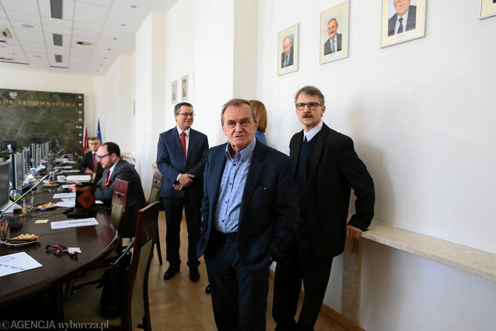 Z kim przewodniczący KRS spotkali się w Kancelarii Prezydenta. Sędzia Johann: Co to pana obchodzi?