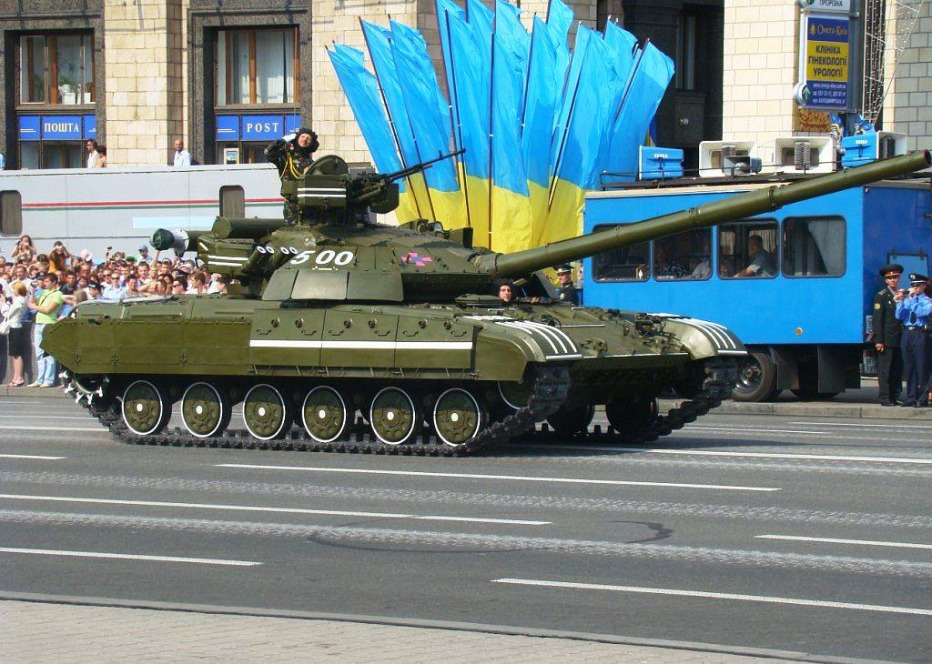 Ukraiński czołg T-64BM Bułat