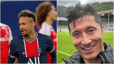 Neymar i Robert Lewandowski