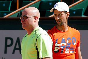 Tenis. Andre Agassi zakończył współpracę z Novakiem Djokoviciem. Serb wciąż bez formy i wyników sprzed lat