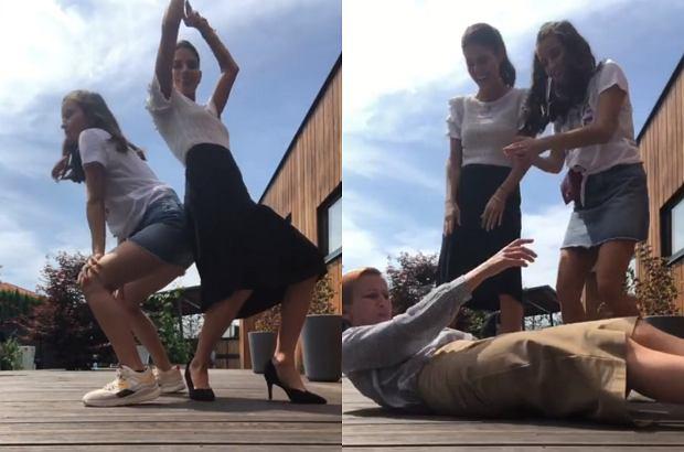 Jak widać, aktorki bardzo się polubiły na planie nowego serialu. Tańcząc do jednej z piosenek Beyonce, kręciły pupami i przewracały się na ziemię.