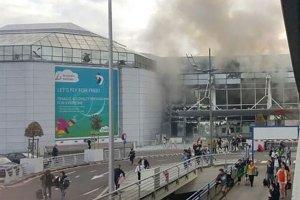 Bruksela: Dwa wybuchy na lotnisku Zaventem. Panika pasażerów i ogromne zniszczenia