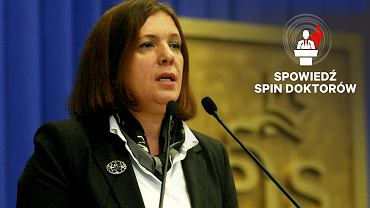 Elżbieta Jakubiak. Fot. Jacek Łagowski  / Agencja Gazeta