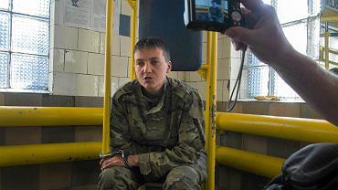 Nadia Sawczenko została zatrzymana w czerwcu 2014 roku przez rebeliantów na wschodzie Ukrainy