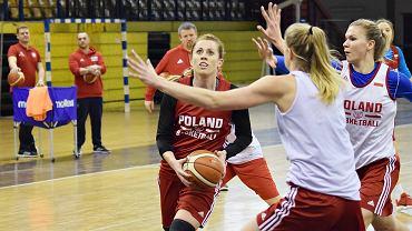 Reprezentacja Polski koszykarek przed wyjazdowymi meczami z Estonią i Białorusią, luty 2018