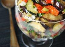 Sałatka z pieczonych warzyw - ugotuj