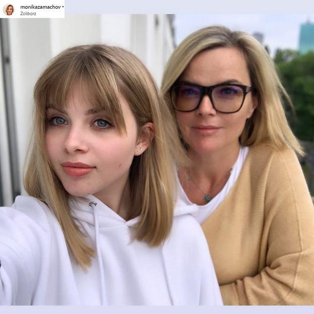 Monika Zamachowska z córką