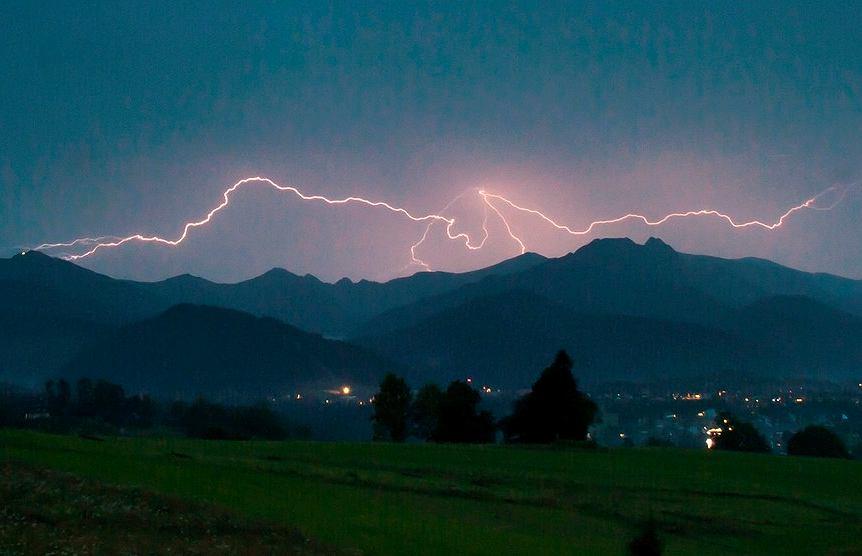 Burza nad Tatrami