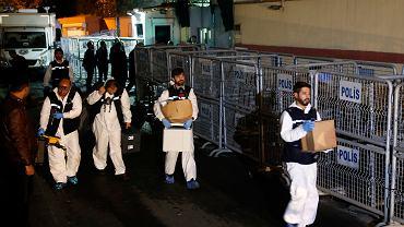 Turcy po wizycie w konsulacie Arabii Saudyjskiej