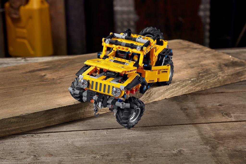Lego Technic Jeep Wrangler