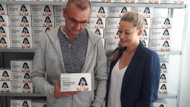Mariusz i Aneta Biernat - wiceprezes i prezes spółki Europrofil w Olsztynku