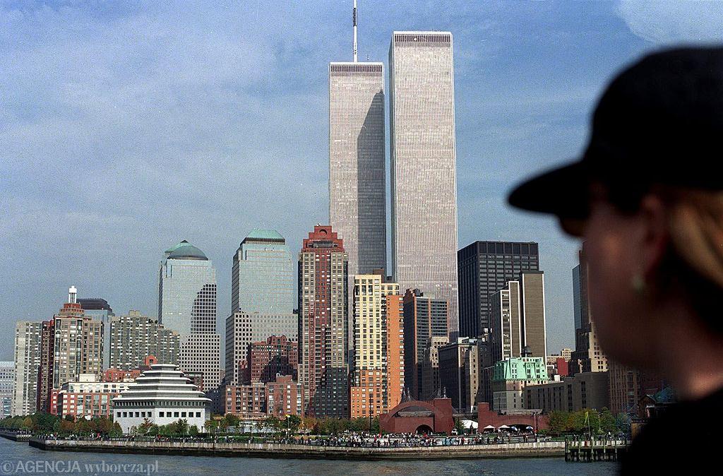 World Trade Center w Nowym Jorku - zdjęcie z 1998 roku