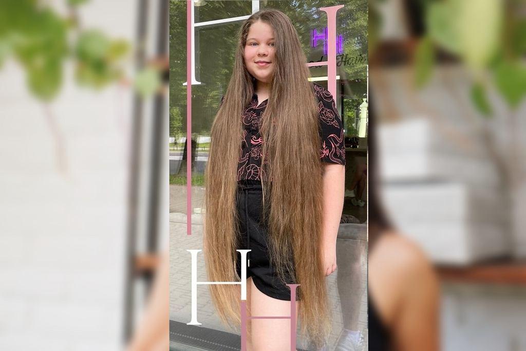 Fryzjerka ścięła jej aż 80 cm włosów. Zaskakująca metamorfoza 11-letniej Nikoli