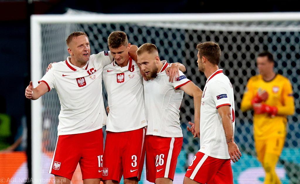 .Mecz pilki noznej Polska - Hiszpania w Sewilli