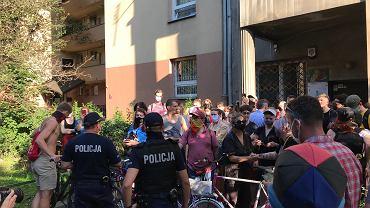 Zatrzymanie aktywistki LGBT w Warszawie