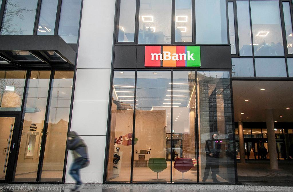 Jedna z siedzib mBank w Polsce