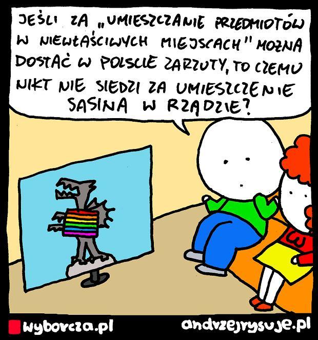 Andrzej Rysuje | ZARZUTY - Andrzej Rysuje | 11 sierpnia 2020 -