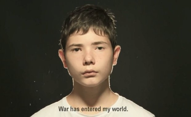 Kadr z filmu nadesłanego na konkurs UNICEF