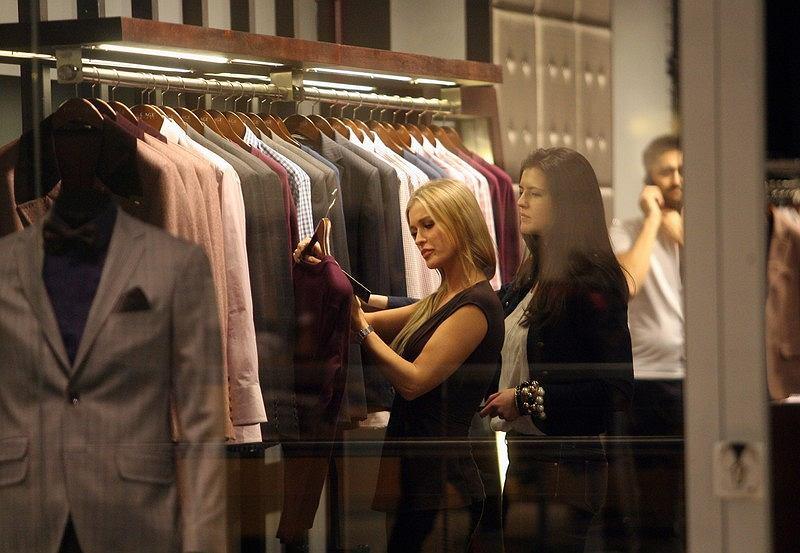Joanna Krupa na zakupach w Galerii Mokotów
