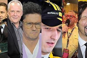 Marek Kondrat, Kuba Wojewódzki, Szymon Majewski, Jerzy Owsiak, Robert Kubica, Kamil Durczok