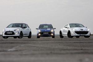 Citroen DS3 vs. Peugeot RCZ vs. Renault Clio RS Gordini - test porównawczy | Za kierownicą