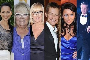 Paulina Sykut, Nina Terentiew, Agata Młynarska, Marcin Mroczek, Edyta Herbuś i Zygmunt Chajzer.