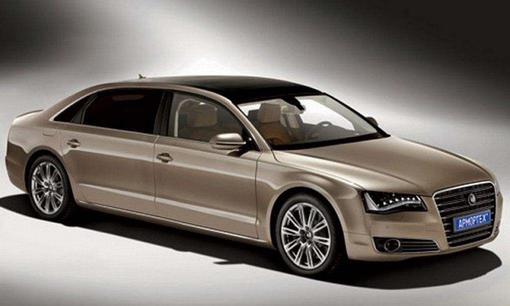 Armortech Audi A8L