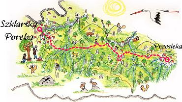 Trasy biegowe w Szklarskiej Porębie
