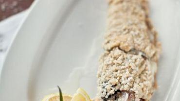 W programie nie zabraknie apetycznych dań. na zdjęciu - ryba pieczona w soli