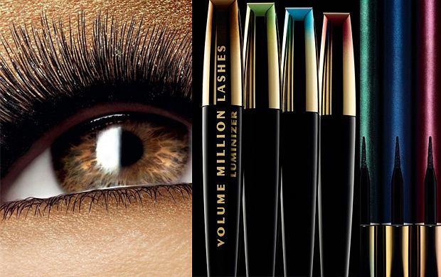 Nowości kosmetyczne L'Oreal - maskary i eyelinery dopasowujące się do koloru tęczówki