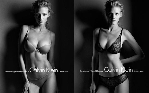 Bielizna Calvin Klein jesień/zima 2011/12 - prezentuje Lara Stone!