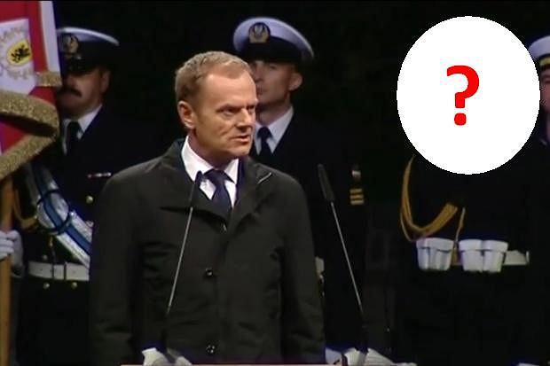 Donald Tusk przemawia na Westerplatte