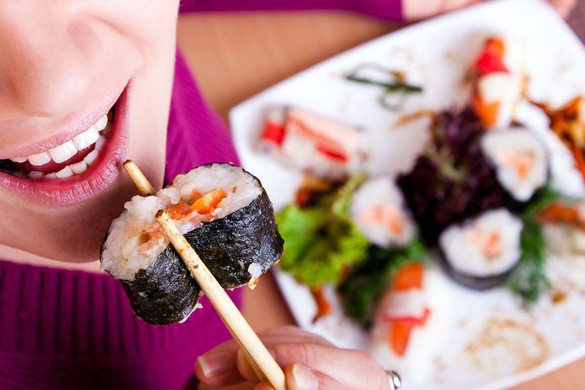 Sushi, jedzenie na wynos
