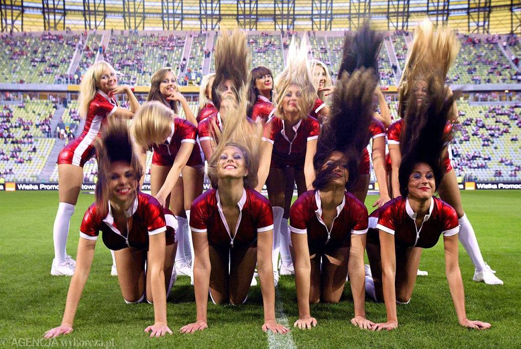Cheerleaders Prokom na PGE Arenie