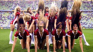 Cheerleaders Prokom na PGE Arenie